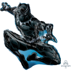 "Black Panther SuperShape XL Foil Balloons 32""/81cm x 32""/81cm P38 - 5 PC"