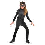 Catwoman Costume - Age 6-8 Years - 1 PC
