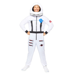Astronaut White Costume - Standard Size - 1 PC