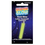 Crazy Green Glow Pendant Stick Necklace - 5cm - 12 PKG