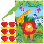Jungle Animals Party Games - 12 PKG/4