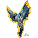 """Batman Action Shape SuperShape Foil Balloons 27""""/69cm w x 39""""/99 cm h P38 - 5 PC"""