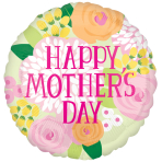 Happy Mother's Day Soft Palette Jumbo Foil Balloons P33 - 5 PC