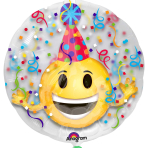 Emoticon Party Hat Insiders Balloons P60 - 5 PC