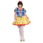 Snow White Costume - Plus Size 18-20 - 1 PC