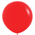 """Fashion Colour Solid Red 015 Latex Balloons 36""""/91.5cm - 2 PC"""