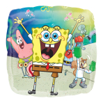 SpongeBob SquarePants Standard HX Foil Balloons - 5 PC