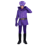 Dick Dastardly Costume - Size Large - 1 PC