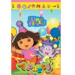 Dora the Explorer Loot Bags 12 PKG/8