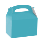 Caribbean Blue Party Boxes - 75 PC
