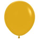 "Fashion Colour Solid Mustard 023 Latex Balloons 18""/45cm - 25 PC"