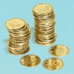 Pirates Treasures Coins - 6 PKG/72