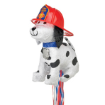 Fire Dog Chief Pinatas - 4 PC