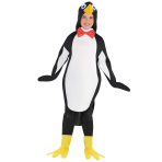Penguin Costume - Age 8-10 Years - 1 PC