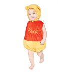 Disney Winnie the Pooh Tabard with Feature Hat - Age 3-6 Months - 1 PC