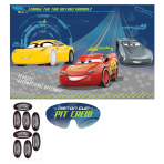 Cars 3 Pin the Party Games - 6 PKG/4