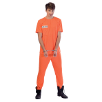 Prisoner Costume - Standard Size- 1 PC