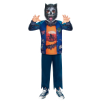 Werewolf Sustainable Costume - Age 4-6 Years - 1 PC