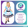 Alice Sustainable Costume - Age 4-6 Years - 1 PC