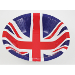 33cm Red//White//Blue Amscan International 993900 Britain Flag Luncheon Napkins