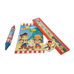 Jakes & The Neverland Pirates Stationery Favour Packs - 6 PKG/20