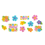 Hawaiian Hibiscus Cut-outs - 12 PKG/12