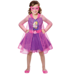 Barbie Spy Squad Girls Costume - Age 8-10 Years - 1 PC