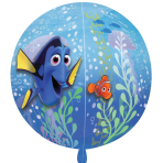Finding Dory Clear Orbz  Balloons G40 - 5PC