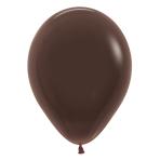 "Fashion Colour Solid Chocolate 076 Latex Balloons 12""/30cm - 50 PC"