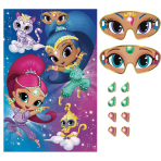 Shimmer & Shine Pin the Party Games - 6 PC