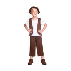 Poor Tudor Boy Costume - Size 8-10 Years - 1 PC