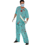 Adults Bloody Unisex Scrubs - 3 PKG/2