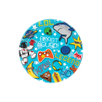 Epic Party Paper Plates 18cm - 12 PKG/8