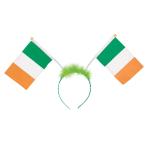 Irish Flag Bopper Headbands - 12 PC