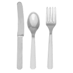 Silver Cutlery Assortment - 12 PKG/24