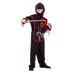 Boys Ninja Costume & Accessories - Age 3-5 Years - 1 PC