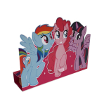 My Little Pony Stand-up Invitations - 10 PKG/8
