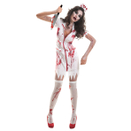 Zombie Nurse Costume - Plus Size - 1 PC