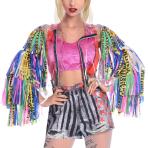 Harley Quinn Birds of Prey Jacket - Size M-L - 1 PC