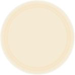 Vanilla Creme Paper Plates 17.7cm - 12 PKG/8