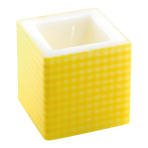 Yellow Candles 8cm x 8cm - 6 PKG