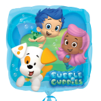 Bubble Guppies Standard Foil Balloons S60 - 5 PC