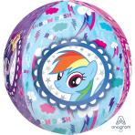 """Orbz My Little Pony Foil Balloons 15""""/38cm w x 16""""/40cm h - G40 5PC"""
