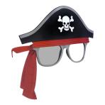 Fun Shades Pirate Tinted/Clear - 6 PC