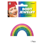 Rainbow Body Jewellery 12cm x 8.8cm - 24 PC