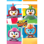 Top Wing Plastic Loot Bags - 6 PKG/8