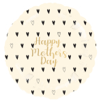 Happy Mother's Day Standard XL Foil Balloons S40 - 5 PC