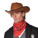 Classic Red Cowboy Bandanas - 12 PC