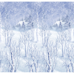 Winter Wonderland Room Scene Setters 1.2m x 12.2m - 4 Rolls