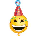 Birthday Emoticon Junior Shape Foil Balloons S40 - 5 PC